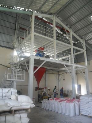 Workshop Type Dry Mortar Mixing Plant