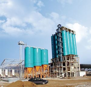 Tower Type Dry Mortar Mixing Plant